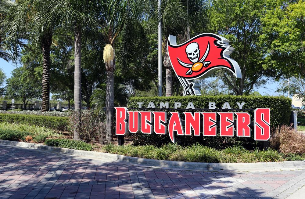 Tampa Bay Buccaneers outdoor sign