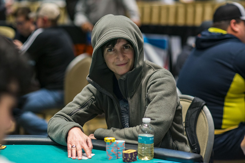 poker player Lara Eisenberg