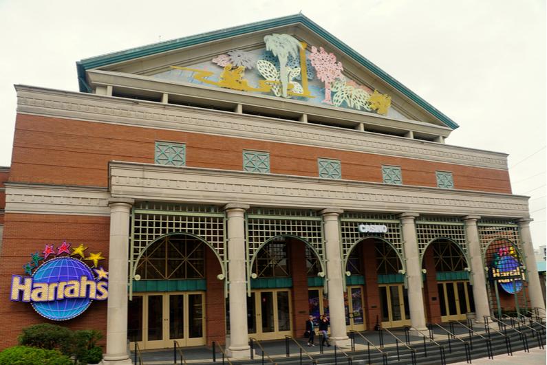 facade of Harrah's New Orleans casino