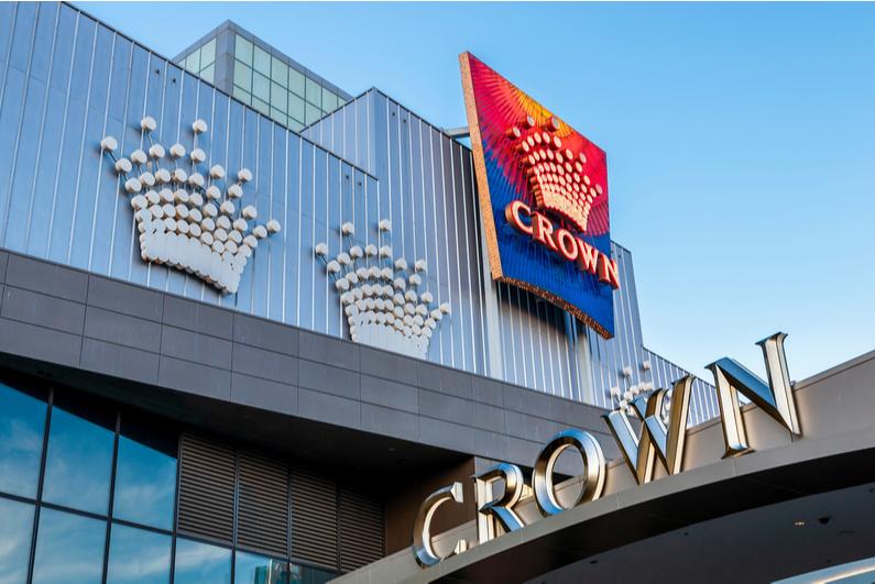 Crown Melbourne sign