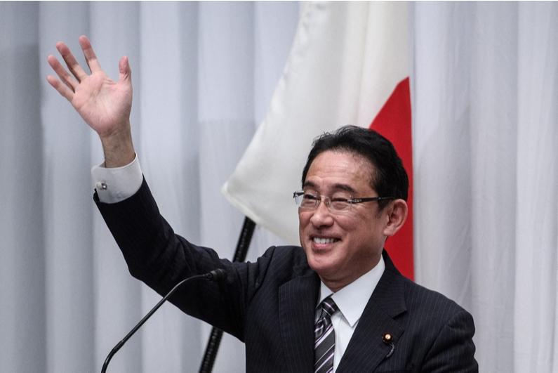 Japan Prime Minister Fumio Kishida