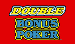 Double Bonus Video Poker game free